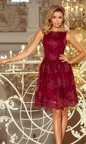 Exclusive φόρεμα – Burgundy color